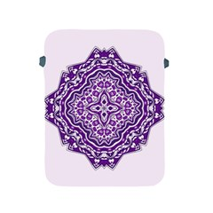 Mandala Purple Mandalas Balance Apple Ipad 2/3/4 Protective Soft Cases by Simbadda