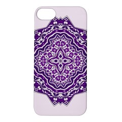 Mandala Purple Mandalas Balance Apple Iphone 5s/ Se Hardshell Case by Simbadda