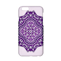 Mandala Purple Mandalas Balance Apple Iphone 6/6s Hardshell Case by Simbadda