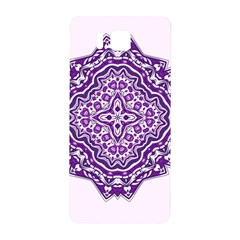 Mandala Purple Mandalas Balance Samsung Galaxy Alpha Hardshell Back Case by Simbadda