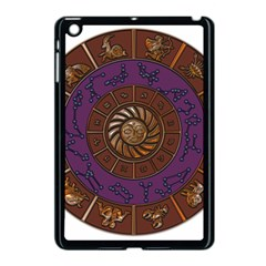 Zodiak Zodiac Sign Metallizer Art Apple Ipad Mini Case (black) by Simbadda