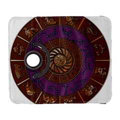 Zodiak Zodiac Sign Metallizer Art Galaxy S3 (flip/folio) by Simbadda