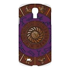 Zodiak Zodiac Sign Metallizer Art Samsung Galaxy S4 I9500/i9505 Hardshell Case by Simbadda