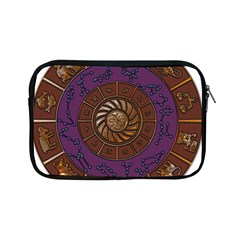 Zodiak Zodiac Sign Metallizer Art Apple Ipad Mini Zipper Cases by Simbadda