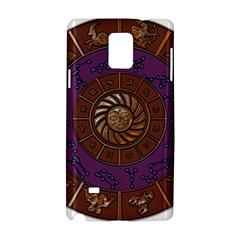 Zodiak Zodiac Sign Metallizer Art Samsung Galaxy Note 4 Hardshell Case by Simbadda