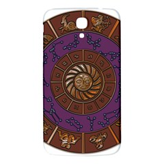 Zodiak Zodiac Sign Metallizer Art Samsung Galaxy Mega I9200 Hardshell Back Case by Simbadda