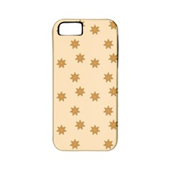 Pattern Gingerbread Star Apple Iphone 5 Classic Hardshell Case (pc+silicone) by Simbadda