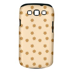 Pattern Gingerbread Star Samsung Galaxy S Iii Classic Hardshell Case (pc+silicone) by Simbadda