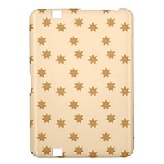 Pattern Gingerbread Star Kindle Fire Hd 8 9  by Simbadda