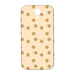 Pattern Gingerbread Star Samsung Galaxy S4 I9500/i9505  Hardshell Back Case by Simbadda