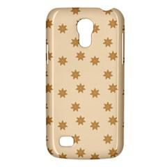 Pattern Gingerbread Star Galaxy S4 Mini by Simbadda