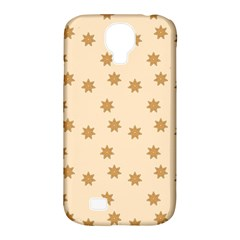 Pattern Gingerbread Star Samsung Galaxy S4 Classic Hardshell Case (pc+silicone) by Simbadda