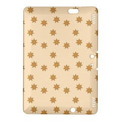 Pattern Gingerbread Star Kindle Fire Hdx 8 9  Hardshell Case by Simbadda