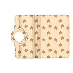 Pattern Gingerbread Star Kindle Fire Hd (2013) Flip 360 Case by Simbadda
