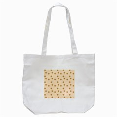 Pattern Gingerbread Star Tote Bag (white) by Simbadda