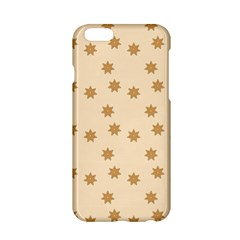 Pattern Gingerbread Star Apple Iphone 6/6s Hardshell Case by Simbadda
