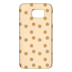 Pattern Gingerbread Star Galaxy S6
