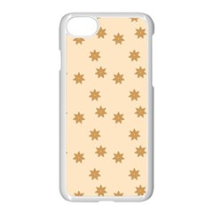 Pattern Gingerbread Star Apple Iphone 7 Seamless Case (white) by Simbadda
