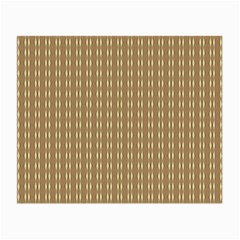 Pattern Background Brown Lines Small Glasses Cloth by Simbadda