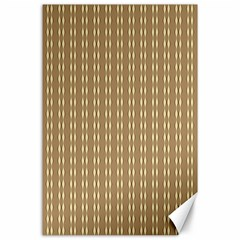 Pattern Background Brown Lines Canvas 24  X 36  by Simbadda