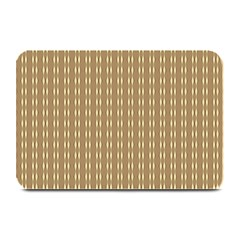 Pattern Background Brown Lines Plate Mats by Simbadda