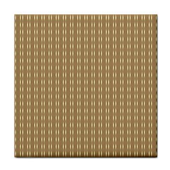 Pattern Background Brown Lines Face Towel by Simbadda