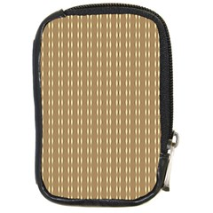 Pattern Background Brown Lines Compact Camera Cases by Simbadda