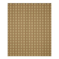Pattern Background Brown Lines Shower Curtain 60  X 72  (medium)  by Simbadda