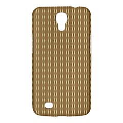 Pattern Background Brown Lines Samsung Galaxy Mega 6 3  I9200 Hardshell Case by Simbadda