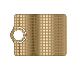 Pattern Background Brown Lines Kindle Fire Hd (2013) Flip 360 Case by Simbadda