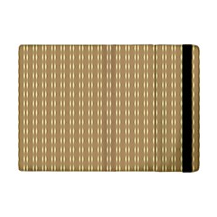 Pattern Background Brown Lines Ipad Mini 2 Flip Cases by Simbadda