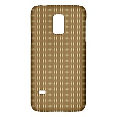 Pattern Background Brown Lines Galaxy S5 Mini by Simbadda