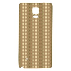 Pattern Background Brown Lines Galaxy Note 4 Back Case by Simbadda