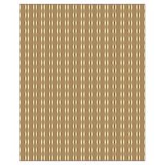 Pattern Background Brown Lines Drawstring Bag (small) by Simbadda