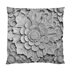 Pattern Motif Decor Standard Cushion Case (one Side) by Simbadda