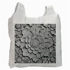 Pattern Motif Decor Recycle Bag (two Side)  by Simbadda
