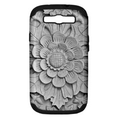 Pattern Motif Decor Samsung Galaxy S Iii Hardshell Case (pc+silicone)