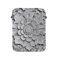 Pattern Motif Decor Apple Ipad 2/3/4 Protective Soft Cases by Simbadda