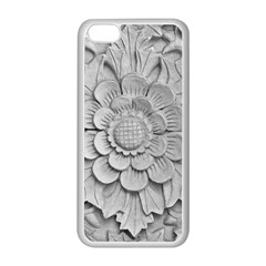 Pattern Motif Decor Apple Iphone 5c Seamless Case (white) by Simbadda