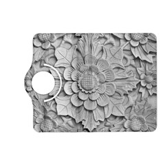 Pattern Motif Decor Kindle Fire Hd (2013) Flip 360 Case by Simbadda