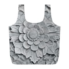 Pattern Motif Decor Full Print Recycle Bags (l)  by Simbadda