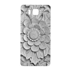 Pattern Motif Decor Samsung Galaxy Alpha Hardshell Back Case by Simbadda