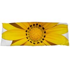 Transparent Flower Summer Yellow Body Pillow Case Dakimakura (two Sides) by Simbadda