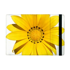 Transparent Flower Summer Yellow Apple Ipad Mini Flip Case by Simbadda
