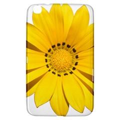 Transparent Flower Summer Yellow Samsung Galaxy Tab 3 (8 ) T3100 Hardshell Case  by Simbadda