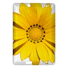Transparent Flower Summer Yellow Amazon Kindle Fire Hd (2013) Hardshell Case by Simbadda
