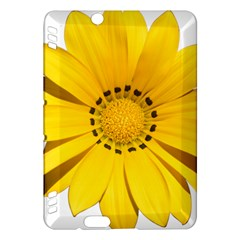 Transparent Flower Summer Yellow Kindle Fire Hdx Hardshell Case by Simbadda
