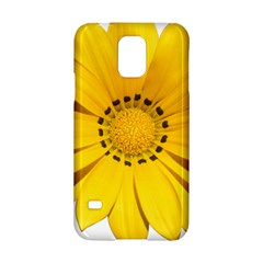 Transparent Flower Summer Yellow Samsung Galaxy S5 Hardshell Case  by Simbadda