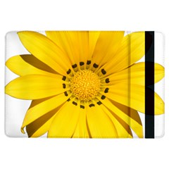 Transparent Flower Summer Yellow Ipad Air Flip by Simbadda