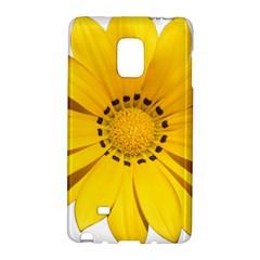 Transparent Flower Summer Yellow Galaxy Note Edge by Simbadda